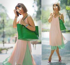 Be Inspired for creative and chic colored outfits for everyday life! Modest Summer Fashion, Summer Fashion Outfits, Spring Summer Fashion, Summer Chic, Fashion Clothes, Nude Outfits, Stylish Outfits, Dressy Outfits, Work Outfits