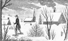 The Great Snow of 1717 left snowdrifts up to 25' and snowfall of 4-5 feet throughout New England in early Feb., effectively shutting down any activity requiring travel, including Church services. It was noted in many a diary or journal. Why in Genealogy? Your ancestors may we have experienced this long winter of monster snows: it adds context, you can imagine & empathize, & understand the effect of snow in a pre-snow blower era.