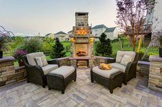 Outdoor Living Spaces Blog by EP Henry : Turn your patio into an outdoor living room with a patio conversation set