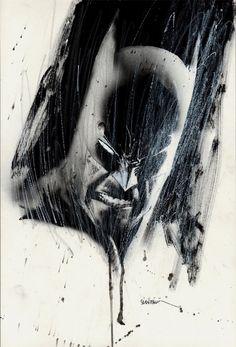 The Batman Portrait - Bill Sienkiewicz