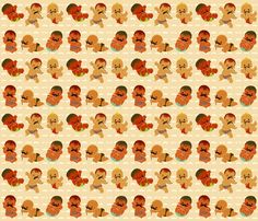 Little Men fabric by thalita_dol on Spoonflower - custom fabric