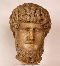 A statue of Lucius Verus, who ruled ancient Rome alongside his more famous adopted brother Marcus Aurelius, was recently recovered among a cache of looted artifacts, Italian officials say.  Investigators found the intricately carved marble head in a boathouse near Rome, saying the find was particularly significant because Lucius was reluctant to pose for official portraits. Only four other depictions of Lucius are known to exist, experts said.