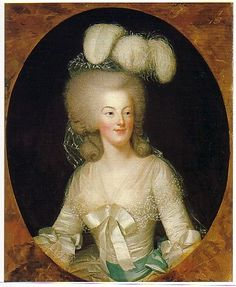 Marie Antoinette painted in 1780