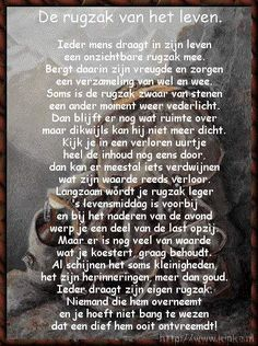 Dutch saying about life. True Quotes, Words Quotes, Sayings, Mantra, Dutch Words, Dutch Quotes, Verse, More Than Words, One Liner