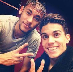 Neymar Marc Bartra I'll take both please