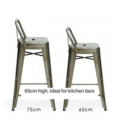 Tolix Pauchard Style Bar Stool 65cm and 75cm – Onske