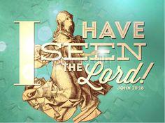 I have seen the Lord Sermon PowerPoints. #Sharefaith #Easter #EasterMedia #Faith #ChurchMedia #Sermons