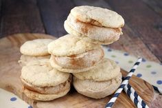 Snickerdoodle Ice Cream Sandwiches -- Are You Drooling?  http://thestir.cafemom.com/food_party/185829/11_homemade_ice_cream_sandwiches?ct=the_latest_1