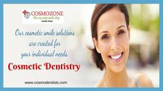 Cosmetic dentistry is dentistry aimed at creating a positive change to your teeth and to your smile. Veneers, Crowns, Bridges, Tooth Jewellery, Smile Designing are some of them