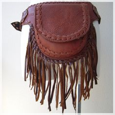 Fringe Waist Side Bag -100% leather - http://naturaleeza.com/?pid=64583481 https://naturaleeza.stores.jp/#!/