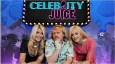 CELEBRITY JUICE - Get ready for a right good time with K-to-the-L-Lemon. It's a well good comedy panel show where Fearne's nostrils compete with Willoughboobies once a week - presided by a bang tidy presenter Keith.