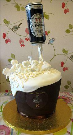 Guinness anti gravity cake                                                                                                                                                     More