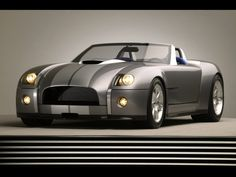 2005 Ford Shelby Cobra concept...the king with his new clothes