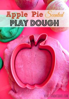 Are you ready for fall? Let's get a head start with an apple pie scented play dough recipe that's perfect for kids of all ages + it smells SO good! #BewitchinProjects