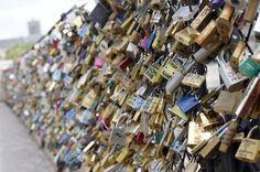 Lock bridges in Paris!