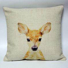Life365 Cute Little Deer Cotton Linen Decorative Throw Pillow Cover Cushion Case Pillow Case 18 X 18 Inch(Spirituality Deer) 4TH Emotion http://www.amazon.com/dp/B017MISM4S/ref=cm_sw_r_pi_dp_Th62wb0577PYG