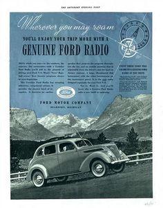 1937 Ford V-8 (Poster).  v@e..