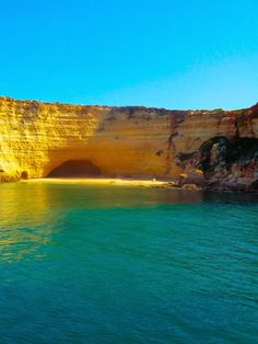 What To Expect From A Boat Ride In The Algarve - via  I Am Ryan Cond 23.05.2015 | Armed with just my iPhone I took these Algarve pictures from a boat trip I took during my stint in Portugal.  #portugal #travel #tips