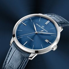 The blue hour Girard-Perregaux 1966