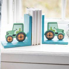 Boys Tractor Bedroom, Tractor Nursery, Tractor Room, Baby Boy Rooms, Baby Boy Nurseries, Book Themed Nursery, Nursery Room, Nursery Ideas, Nursery Shelves