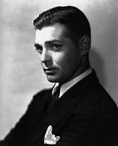 Clark Gable. Photo by George Hurrell
