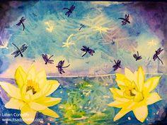 http://itsadomelife.com #art #watercolor #artist