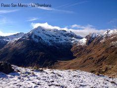 Passo San Marco, tra Mezzoldo e Morbegno, tra la Val Bermbana e la Valtellina ... panorama unico