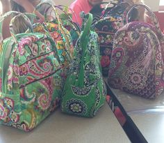 Vera Bradley lunch boxes :: so cute!! These are really popular at my house @mjrxoxo