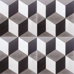 Carreaux de ciment - Les motifs - Carreau T 50 - Couleurs & Matières
