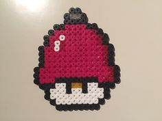 Jingle Bell - Christmas mushroom perler beads by Bjrnbr - Björn Börjesson