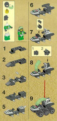 Old LEGO® Instructions   letsbuilditagain.com