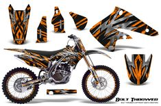 Kawasaki KX250F 2004-2005 Graphics Kit Deadpool, Motorcycle, Graphics, Kit, Vehicles, Stickers, Graphic Design, Motorcycles, Car