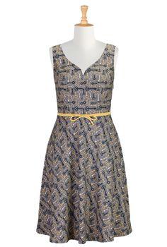 like that bias skirt ....Vintage Key Print Dresses, Sweetheart Dresses Shop Women's Designer Dresses, Silk Dresses, Black Dresses, Women's Special Occasion Dresses |...