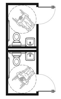 Plan-1A Pair: 1991 Standards with Out-Swinging Doors