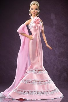 Badgley Mischka Barbie® Doll Barbie Collector.  2006