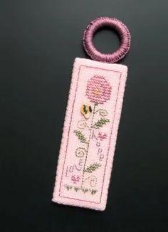Photo: Stitcher - P.L. (12/10) Designer - Shepherd's Bush Design Name - Heartfelt Flower (Elegant Stitch - Esmerelda's Friends)