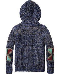 Chunky Knitted Cardigan - Scotch