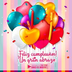Birthday Quotes : QUOTATION - Image : As the quote says - Description Birthday card with colored balloons vector 01 Birthday Blessings, Birthday Wishes Quotes, Happy Birthday Messages, Happy Birthday Greetings, Happy Birthday Ballons, Birthday Fun, Happy Birthday Tia, Birthday Clipart, Birthday Posts