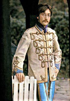 John Lennon as Sgt Pepper