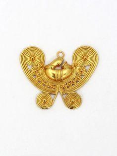 DJG013 Enamel, Brooch, Jewels, Accessories, Gold, Vitreous Enamel, Jewerly, Brooches, Enamels