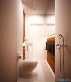 Bathroom interior design in Zabrze POLAND - archi group