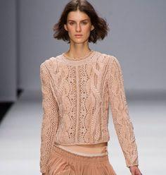 Вязаные пуловеры от Vanessa Bruno Spring 2013 | Мисс Лана Ви | Ms Lana Vi