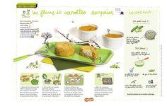 Les flans de carottes surprise: une recette rigolote pour les enfants, à base de carottes et de fromage frais. Extrait du magazine Astrapi n°812, pour les enfants de 7 à 11 ans.