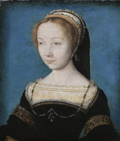 Portrait of a Woman    attributed to Corneille de Lyon (Netherlandish, 1500-10-1574)    Date: c. 1540    Medium: oil on panel    Dimensions: Unframed - h:16.50 w:14.80 cm (h:6 7/16 w:5 13/16 inches)    Department: European Painting and Sculpture    Type of art work: Painting    Credit Line: Gift of Grace Rainey Rogers in memory of her father, William J. Rainey    Accession No.: 1942.48
