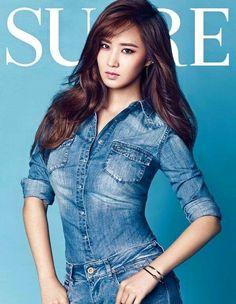 Girls' Generation's Yuri in Sure November 2015 Kwon Yuri, Kim Hyoyeon, Seohyun, Snsd, Girl Day, My Girl, South Korean Girls, Korean Girl Groups, Girl's Generation