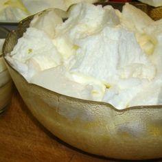 Madártej recept II.