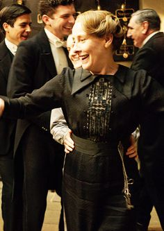 Downton Downstairs ...Mrs. Hughes..