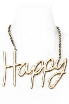 Lanvin Happy Necklace