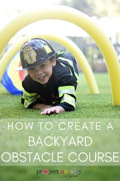 Diy birthday party games for kids obstacle course 39 Ideas Diy Party Games, Backyard Birthday Parties, Ninja Birthday Parties, Birthday Party Games For Kids, Baby Birthday, Ideas Party, Kids Obstacle Course, Backyard Obstacle Course, Backyard Play
