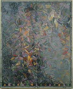 irocellophane:      Jasper Johns (American, b. 1930). Dancers on a Plane, 1980-81.